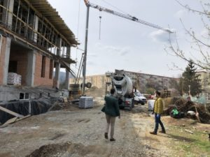Noua creşă din cartierul Astra a prins contur FOTO