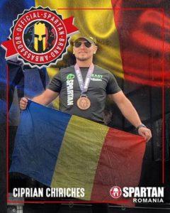 Un brașovean, ambasador al  Spartan Race România