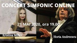 Seria concertelor online continuă la Filarmonica Brașov