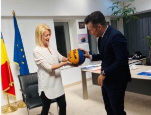Fostul deputat Maria Grecea, în cabinetul ministrului Tineretului și Sportului