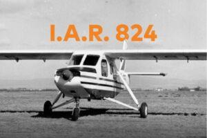Ziua Aviaţiei Române. IAR 824, construit la Brașov, expus pe Aleea Aviatorilor