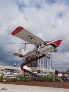 VIDEO – FOTO A fost inaugurată Aleea Aviatorilor din cartierul Coresi