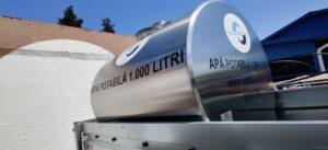 Brașovenii din trei cartiere nu vor avea apă potabilă, de mâine! Cisterne cu apă puse la dispoziția celor afectați