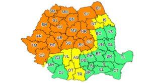 Brașovul, sub avertizare COD PORTOCALIU de vreme severă!