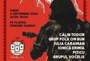 Folkiștii brașoveni, show la Râșnov
