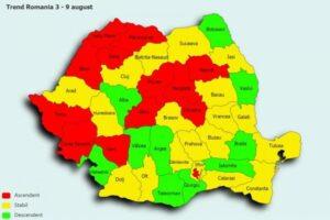 Brașovul, printre județele în care se înregistrează un trend crescător de infectări cu COVID-19