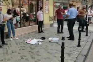 Bărbat prins în flagrant de către polițiștii brașoveni