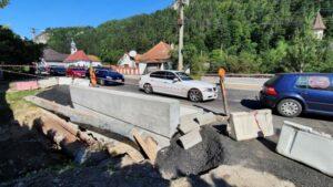 VIDEO Restricțiile din trafic au fost ridicate în centrul Branului!