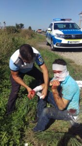 Bărbatul atacat de urs, azi-dimineață, este din Teliu