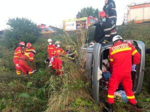 Accident pe DN13, cu trei victime
