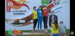 Atletism: Bronz pentru Adina Cîrciogel la Campionatele Balcanice