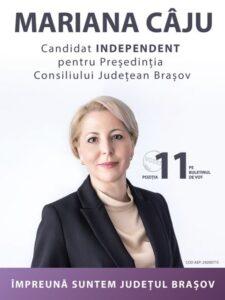 Mariana Câju: Mă adresez primarilor, consilierilor locali, actuali și  viitori: vă propun Pactul viitor pentru Județul Brașov!