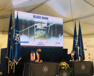 România va găzdui un Centru de Echipare și Întreținere a elicopterelor civile și militare Black Hawk