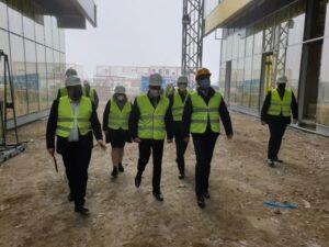 Ambasadorul Israelului, pe șantierul Aeroportului de la Ghimbav