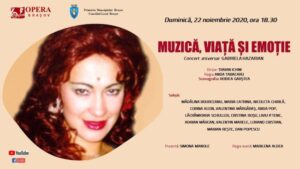 O viață pe scenă, cu mezzosoprana Gabriela Hazarian