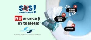 S-a lansat campania intitulată SOS Canalizarea!
