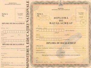 Diplomele și certificatele vor fi introduse într-o bază de date a Ministerului Educației