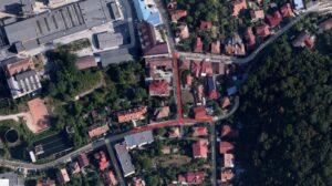 Trafic blocat, vineri noapte,  pe două străzi din Brașov