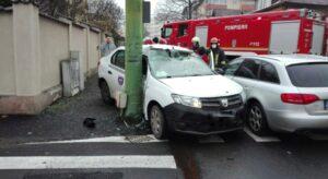 Accident cu victimă, în municipiul Brașov