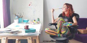 A fi artist nu este doar un hobby sau ceva sezonier – este un mod de a trăi – interviu cu Ana-Maria Gălețeanu – ilustrator