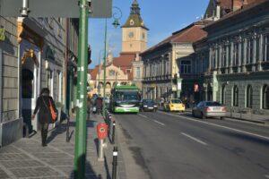 VIDEO Ce măsuri se vor lua, din 9 ianuarie, pentru decongestionarea traficului din zonele aglomerate din Brașov?