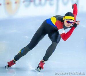 """Mihaela Hogaș, după rezultatul excelent obținut la Mondialele din Olanda: """"Mă bucur că am intrat în istoria patinajului românesc!"""""""