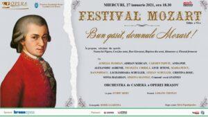"""Bun găsit, domnule Mozart!"" deschide Festivalul Mozart, online"