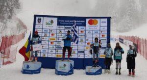 """O medalie de aur, două de argint şi una de bronz pentru schiorii Coronei, la """"FIS Children Trophy"""""""