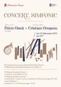 Concert cu public, diseară, la Filarmonica Brașov!