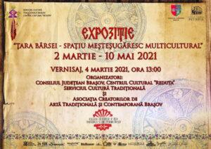Expoziția ŢARA BÂRSEI – Spațiu meşteşugăresc multicultural – Centrul Cultural Reduta