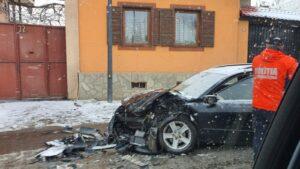 Accident rutier cu 6 victime, la Cristian (FOTO)