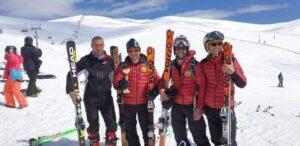 Salvamontiștii brașoveni au câștigat Cupa Salvamont Bucegi la schi alpin!