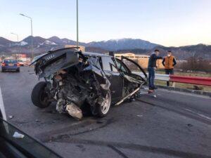 VIDEO Momentul accidentului în care a fost implicat un autobuz RATBV, pe Calea București
