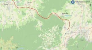 A fost lansată licitația pentru proiectul tehnic al autostrăzii Brașov-Făgăraș