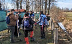 VIDEO Sute de copaci plantați în zona Sanctuarului Libearty Zărnești