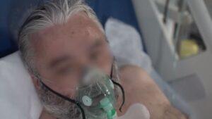 VIDEO DSU, imagini cu pacienți COVID aflați la ATI la Unitatea de Primiri Urgențe din Brașov