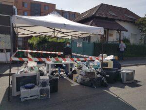Campanie de colectare a deșeurilor electrice, în weekend, la Brașov