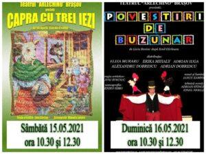 Teatrul Arlechino își redeschide porțile pentru cei mici. Două spectacole, în weekend