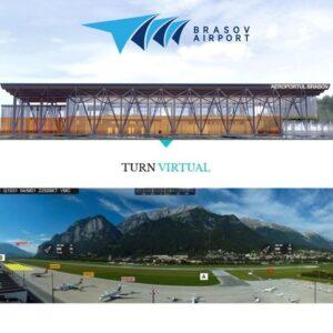 Aeroportul Internațional Brașov va avea turn de control virtual