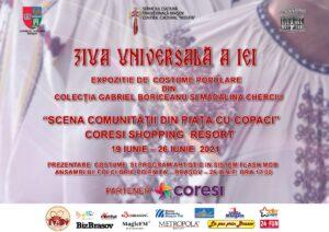 Centrul Cultural Reduta pregătește de Ziua Universală a Iei o expoziție de costume populare la Coresi Shopping Resort