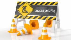 Trafic restricționat pe DN13, între Brașov și Feldioara pentru lucrări la rețeaua de canalizare