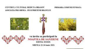 Noaptea de Sânziene, ediția a XXXIX-a, sărbătorită la Șirnea