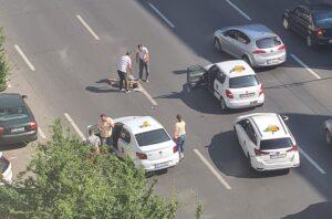 Femeie lovită de mașină, în municipiul Brașov