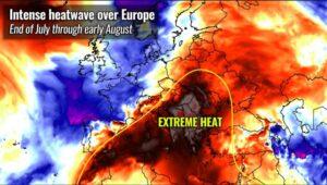 """România, afectată de un val de căldură extremă. """"Domul de căldură"""" aduce temperaturi de peste 40 grade Celsius"""