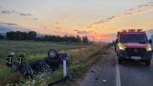 FOTO UPDATE Încă o persoană a decedat în urma accidentului de pe DN1, din județul Brașov