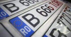 Taxa pentru plăcuțele de înmatriculare poate fi plătită prin ghiseul.ro, fără autentificare