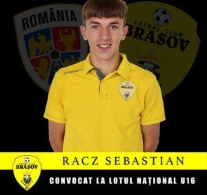 Un junior de la FC Braşov a fost convocat la Naţionala U16!