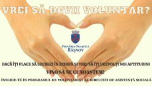 Direcția de Asistența Socială Râșnov caută voluntari