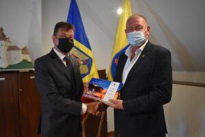 Orașul Râșnov s-a înfrățit cu orașul ucrainean Gostomel