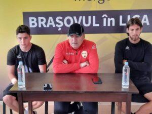 Antrenorul celor de la FC Brașov, Ilie Stan, dar și fotbaliștii Sabău și Mihalcea, au prefaţat confruntarea din weekend, cu Dunărea Călărași
